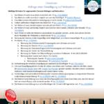 Checkliste für rechtssichere Einwilligungsabfragen auf Webseiten