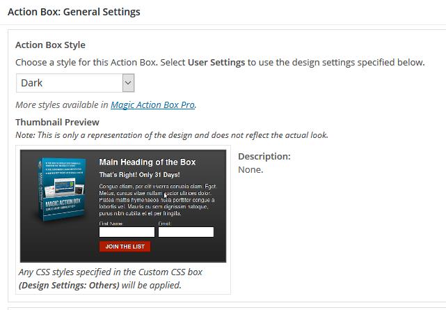 Magic Action Box Editor