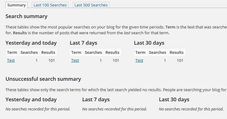Suchanfragen analysieren