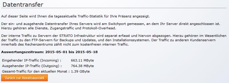 Trafficstatistik