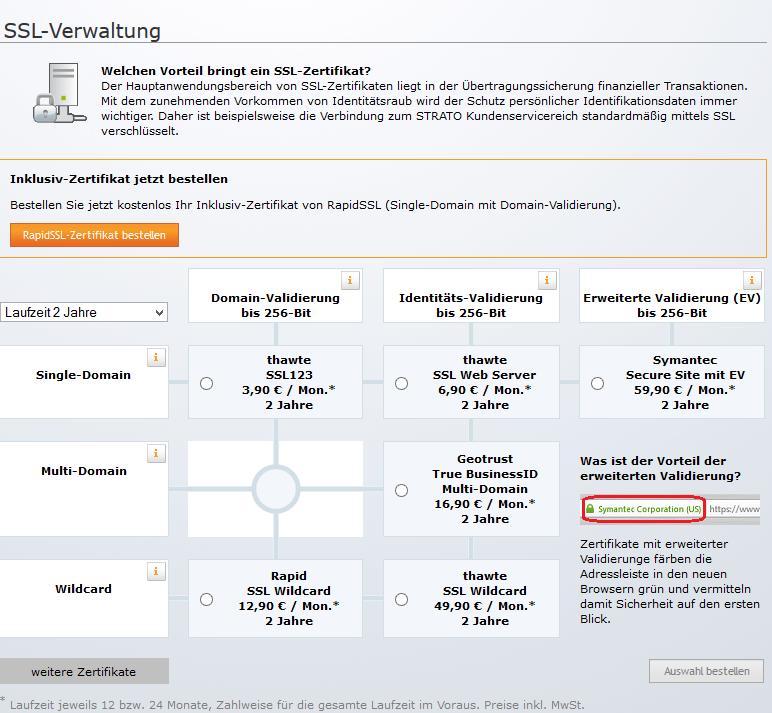 Strato Managed Server Konfiguration