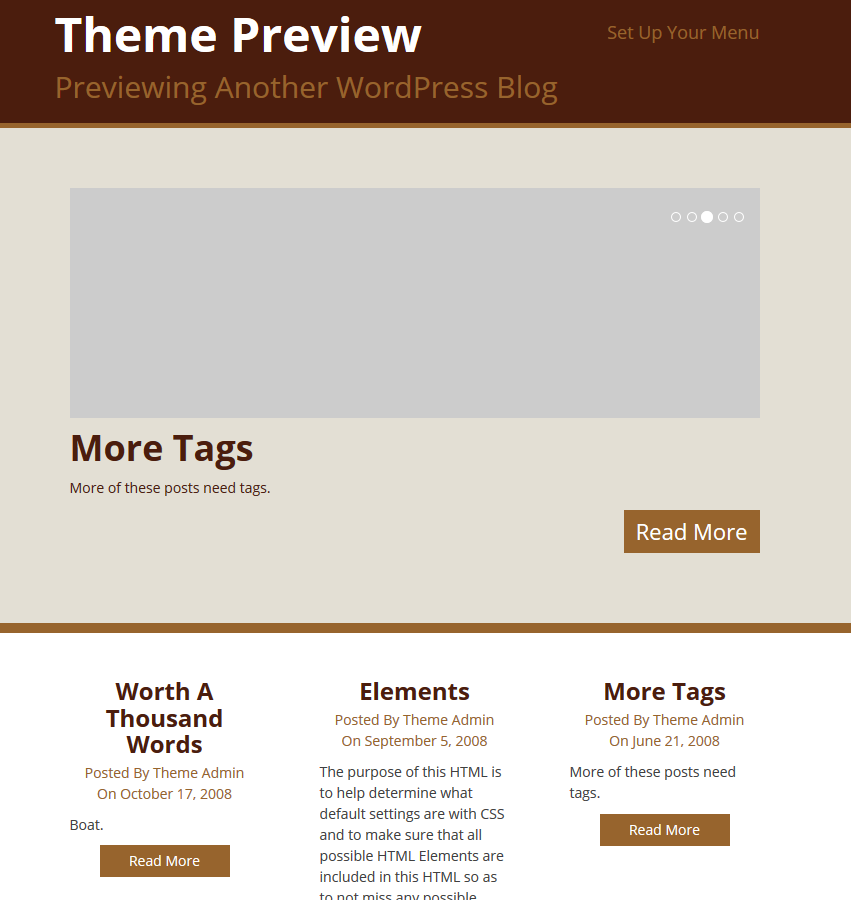 WordPress Theme Doppio