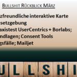 Bullshit-Rückblick März und Vorschau