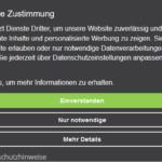 Kostenfreies Consent Tool für Webseiten zum Download